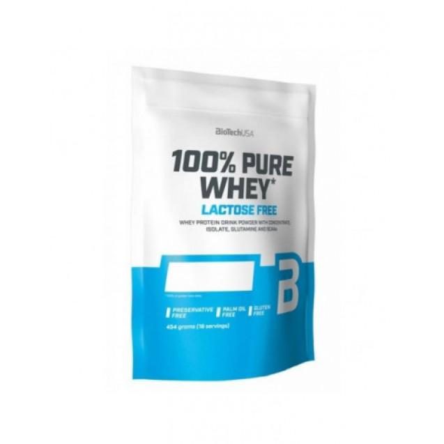 BioTech 100% Pure Whey Lactose Free 454 гр