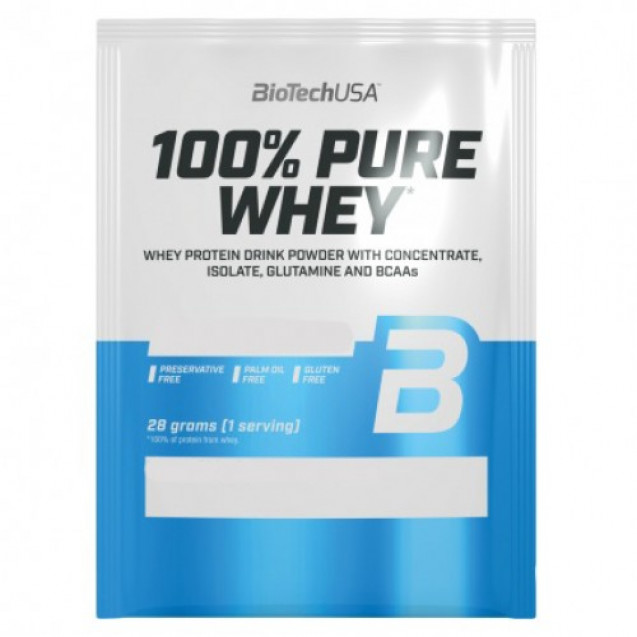 BioTech 100% Pure Whey 28 гр