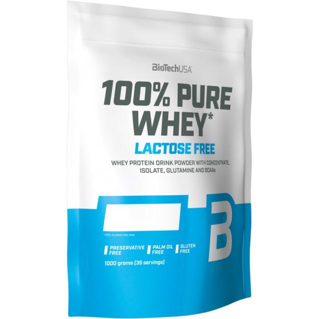 BioTech 100% Pure Whey Lactose Free 1000 гр