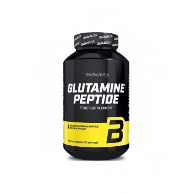 BioTech Glutamine Peptide 180 капсул