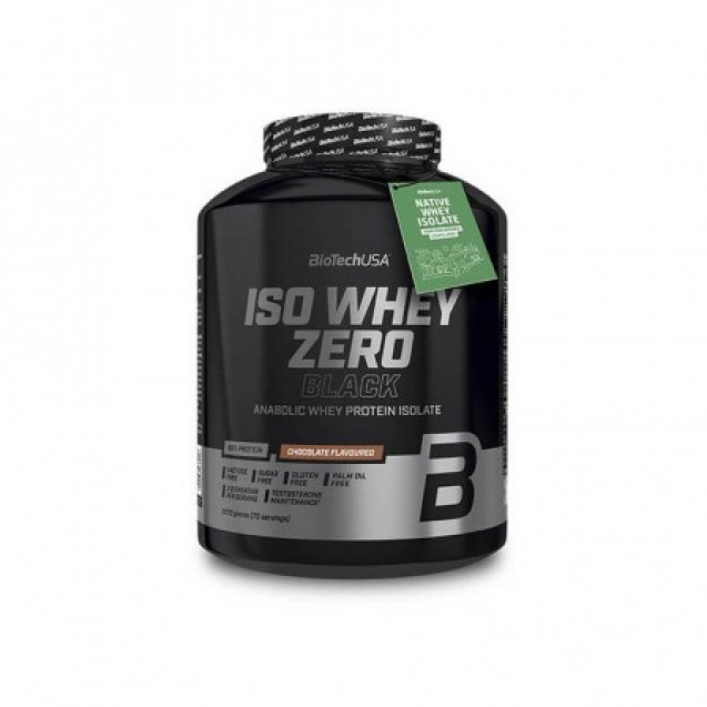BioTech Iso Whey Zero Black 2270 гр