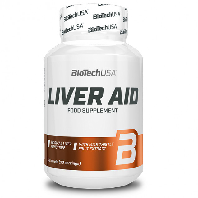 BioTech Liver Aid 60 таблеток