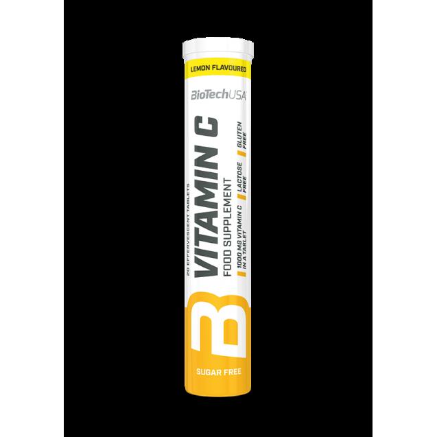 BioTech Vitamin C Effervescent 20 таблеток