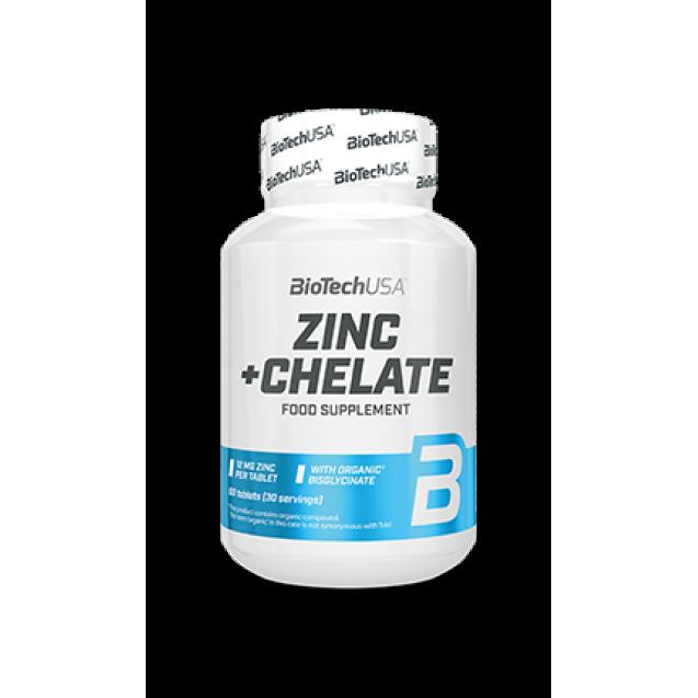 BioTech Zinc+Chelate 60 таблеток