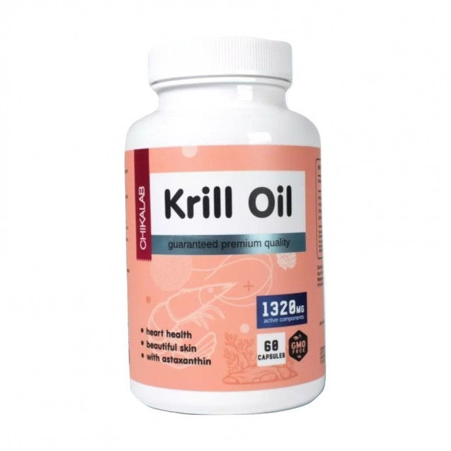 Bombbar Krill Oil 60 капсул