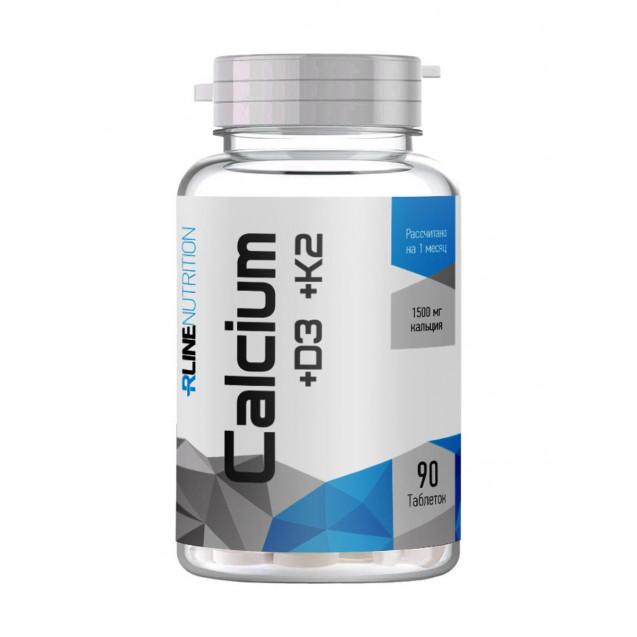 Rline Calcium + D3 + K2 90 таблеток