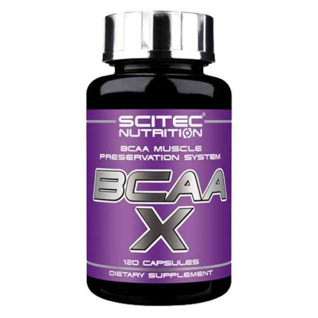 Scitec Nutrition ВСАА X 120 капсул