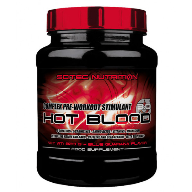 Scitec Nutrition Hot Blood 3.0 300 гр