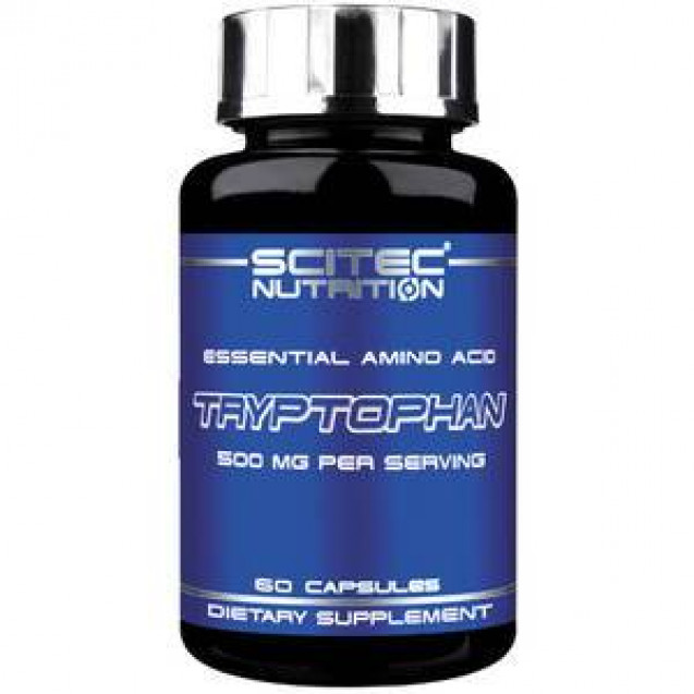 Scitec Nutrition Tryptophan 60 капсул