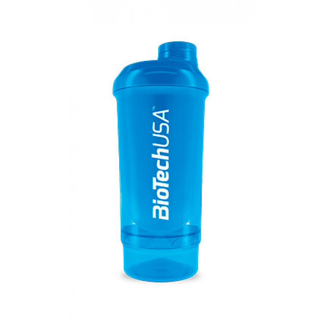 Шейкер Shaker BioTech USA Wave + Compact 500 ml (+ 150 ml)