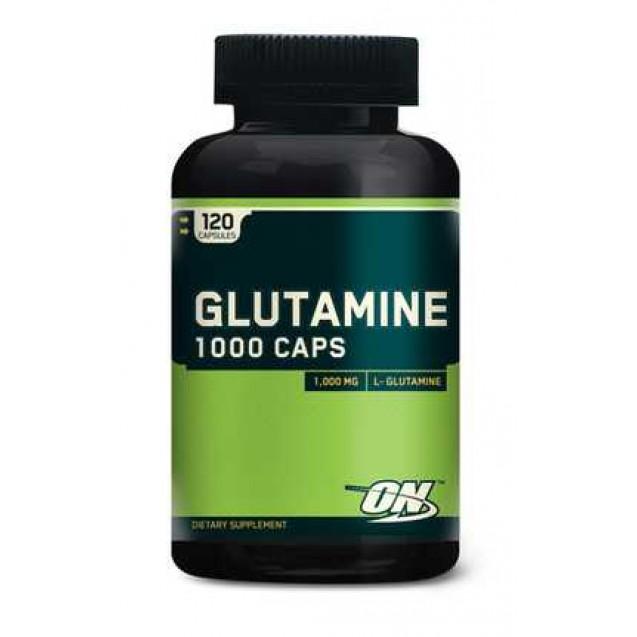 Optimum Nutrition Glutamine 1000 Caps 120 капсул