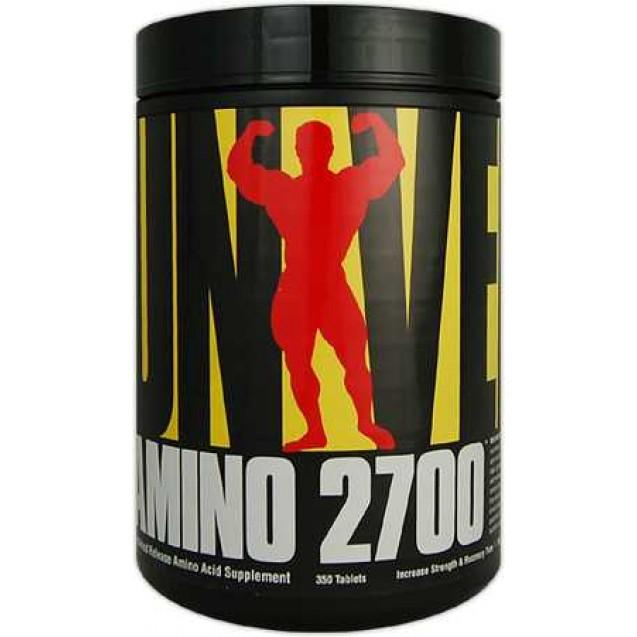Amino 2700 аминокилоты, производитель Universal Nutrition, упаковка банка 700 таблеток