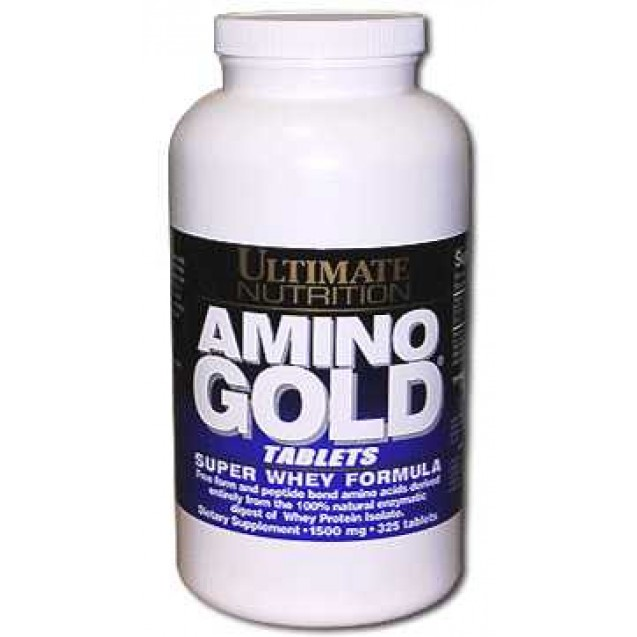 Amino 1000 Gold аминокилоты, производитель Ultimate Nutrition, упаковка 250 таблеток