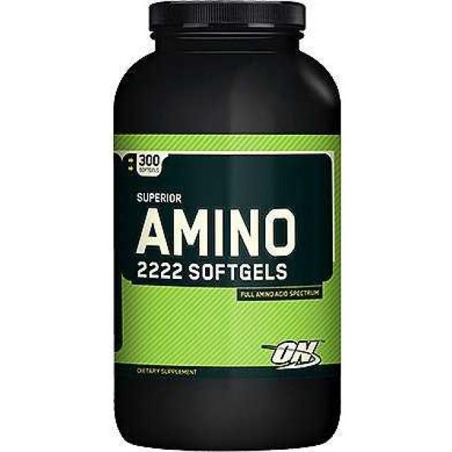 Optimum Nutrition Amino 2222 SoftGels 150 капсул