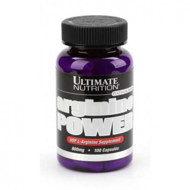 Arginine Power 800 mg, Ultimate Nutrition, 100 caps