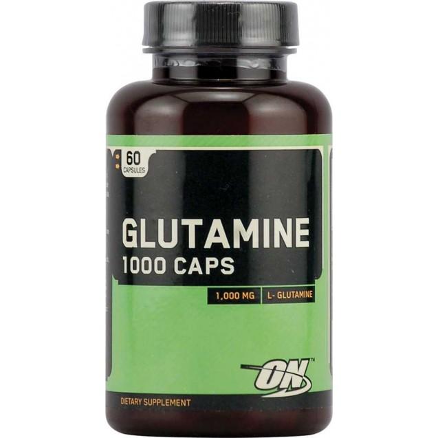 Optimum Nutrition Glutamine 1000 Caps 60 капсул
