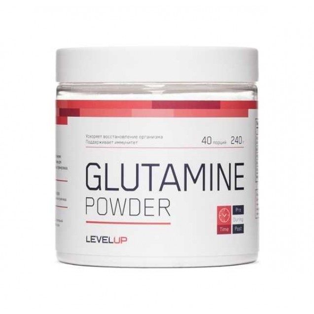 Level Up Glutamine Powder 240 гр
