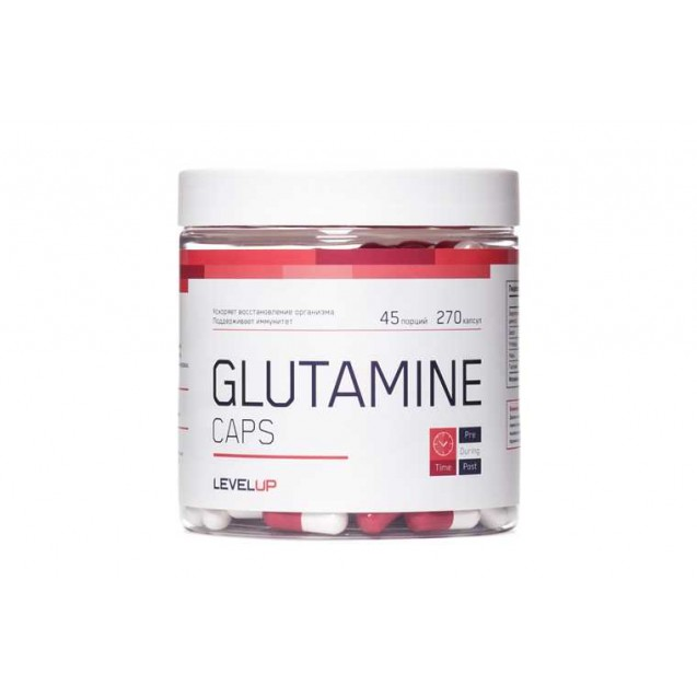 Level Up Glutamine 270 капсул
