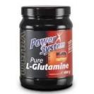 Pure L-Glutamine, аминокислота, производитель Power System, упаковка банка 400 гр.