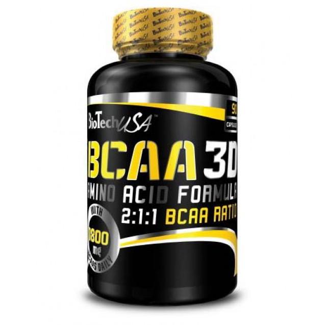 BCAA 3D BioTech USA 90 капсул