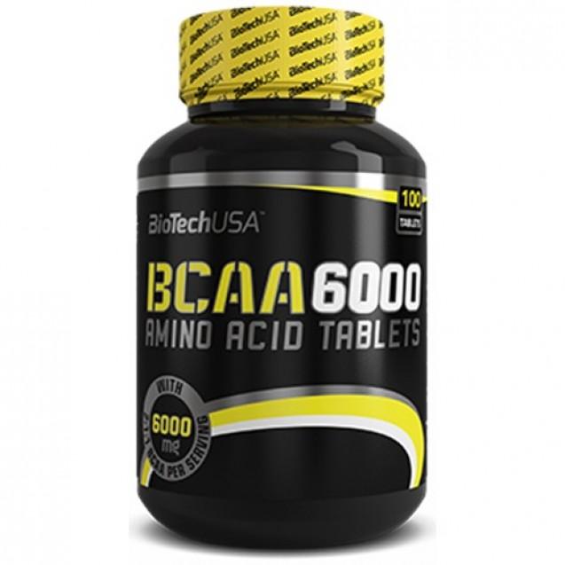 BCAA 6000 BioTech USA 100 таблеток