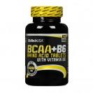 BCAA + B6 BioTech USA 100 таблеток