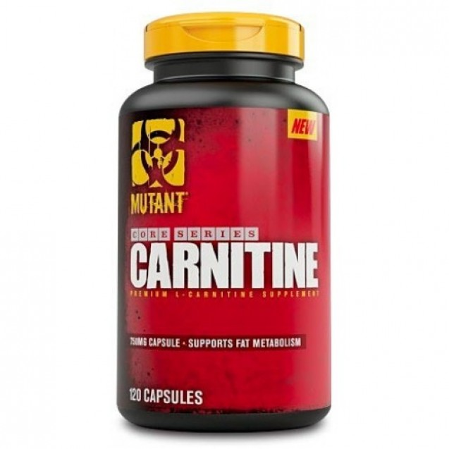 Mutant L-Carnitine 750 mg, Fit Foods, 120 кап