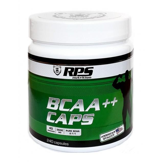 RPS BCAA++ CAPS 2:1:1, БЦАА в капсулах 240 caps