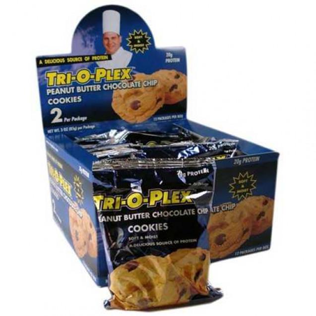 Tri-O-Plex Cookies, производитель Chef Jay's, упаковка коробка 12 шт.