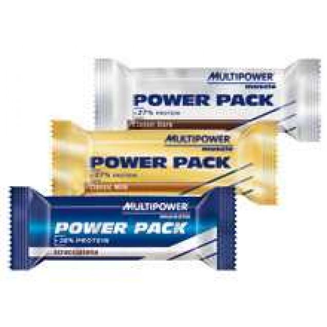 Power Pack батончик, производитель Multipower, упаковка 24 шт, вес 35 гр.