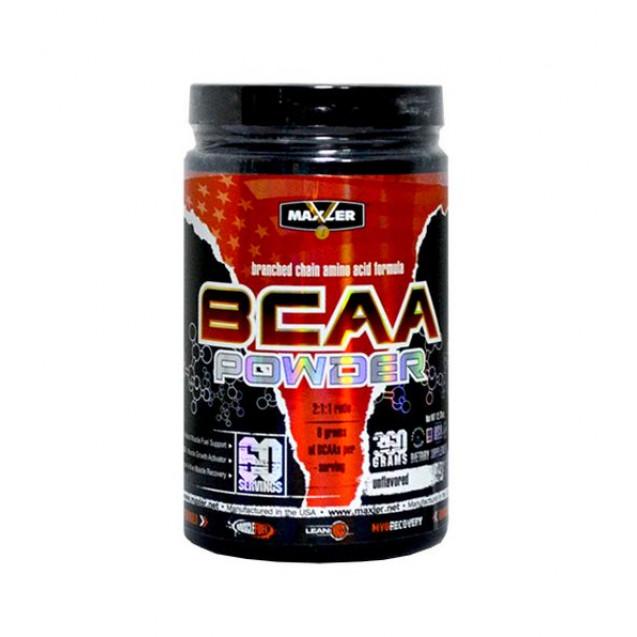 Maxler BCAA Powder Flavored 420 гр