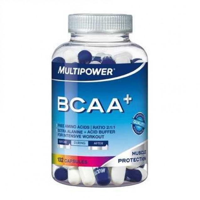 BCAA +, производитель Multipowet Power, упаковка банка 102 капс