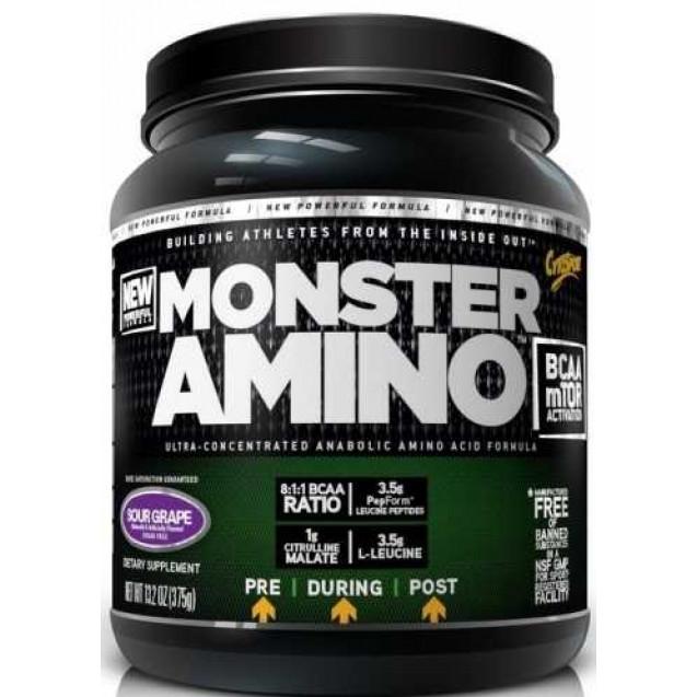 Monster Amino BCAA, производитель CytoSport, упаковка банка 375 гр.