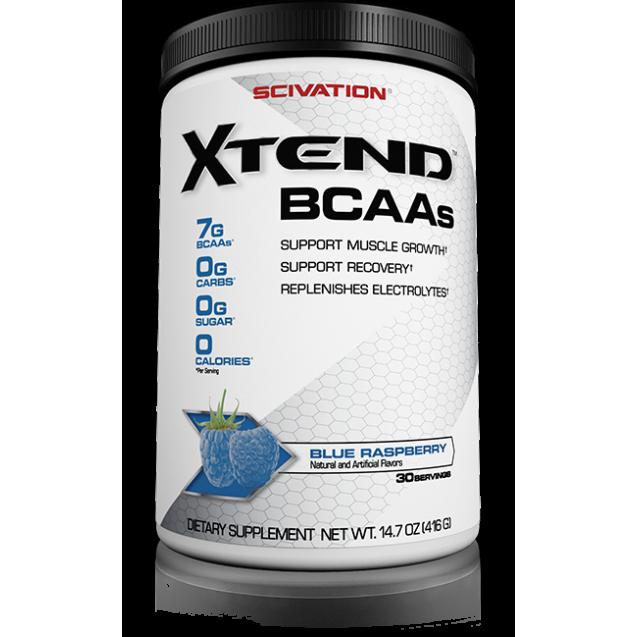 Bcaa X-tend, бсаа х-тенд, аминокислоты, раздел спортивное питание, производитель SciVation, упаковка банка 410 гр.