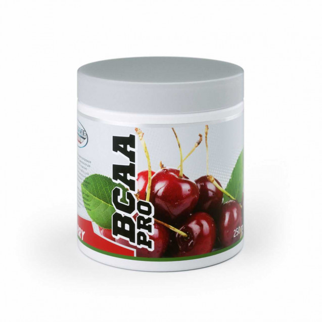 BCAA PRO powder Geneticlab 250 гр. со вкусом