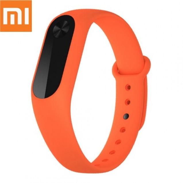 Сменный ремешок Xiaomi для Mi band 2 Orange