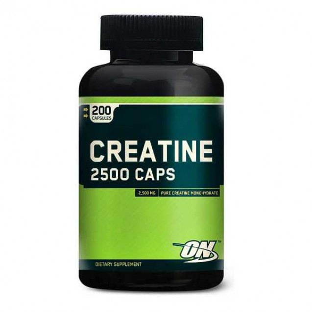 Optimum Nutrition Creatine 2500 Caps 200 капсул