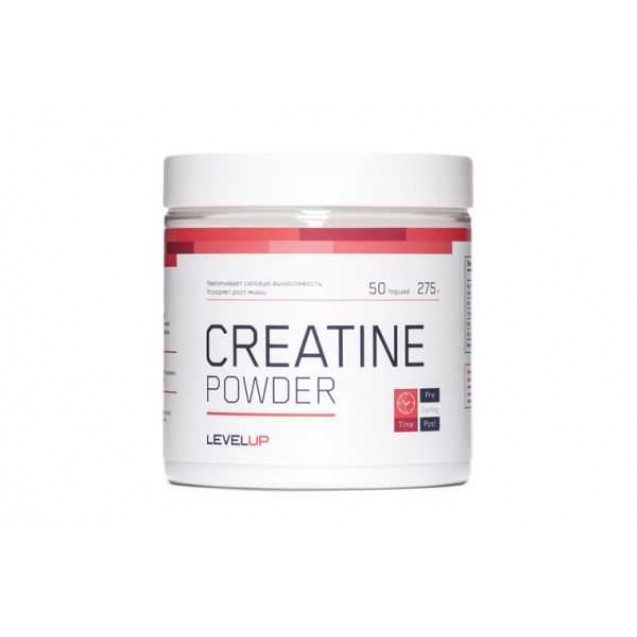Creatine Powder, Level Up, 275 гр