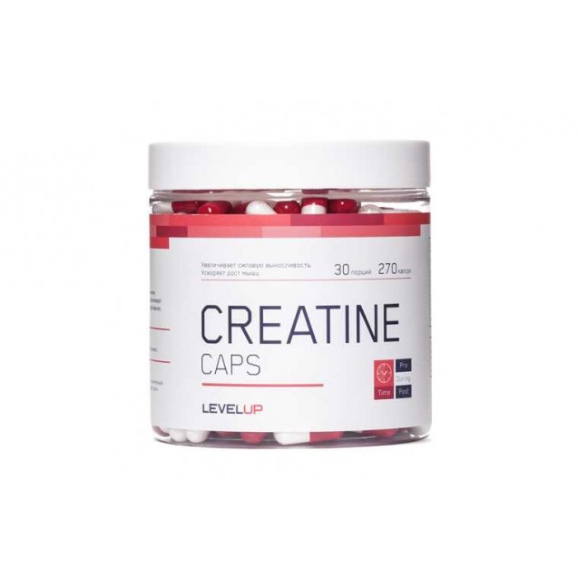 Creatine, Level Up, 270 caps