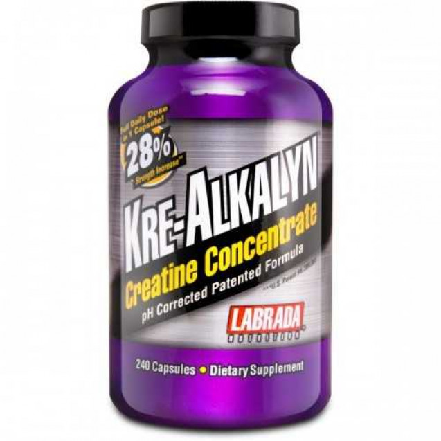 Kre-Alkalyn Creatin Concentrate, Labrada Nutrition, 240 caps