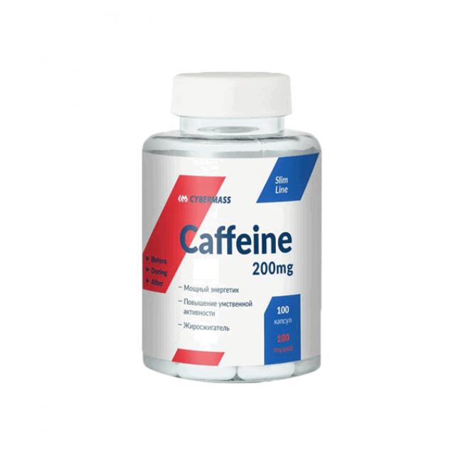 Cybermass Caffeine 200 mg 100 капсул