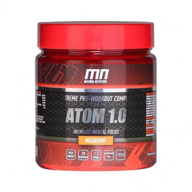 Atom 1.0 предтренировочный комплекс Maximal Nutrition