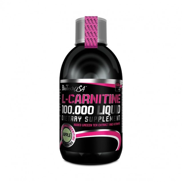 L-Carnitine 100 000 Liquid BioTech USA 500 мл