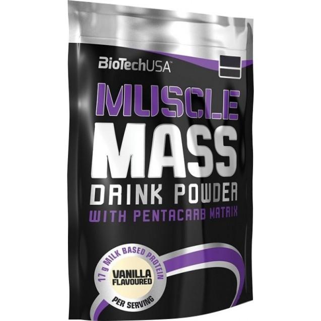 BioTech Muscle Mass 4000 гр