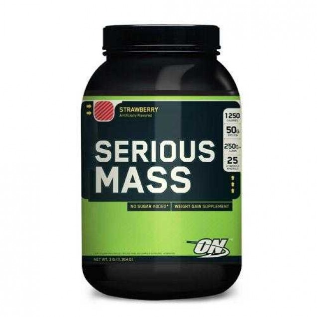 Optimum Nutrition Serious Mass 760 гр