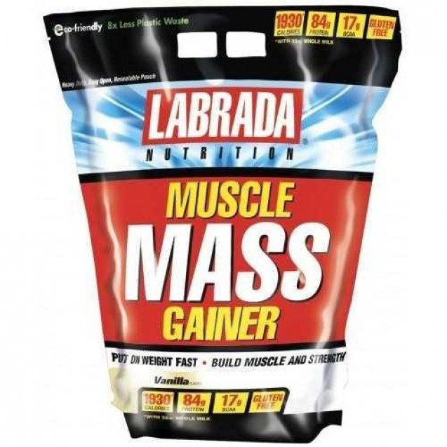 Muscle Mass Gainer, Labrada Nutrition, 2722 гр