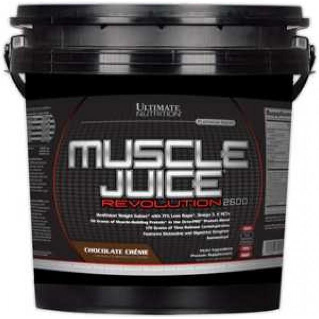 Muscle Juice Revolution 2600, масл джус революшин гейнер, Ultimate Nutrition 5040 гр.