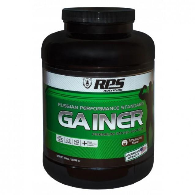 RPS Premium Mass Gainer, гейнер банка 2270 г