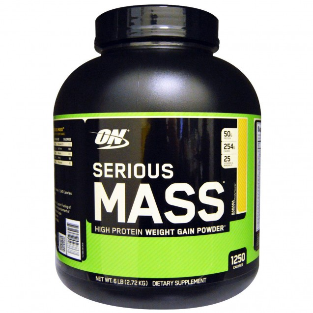 Optimum Nutrition Serious Mass 2730 гр