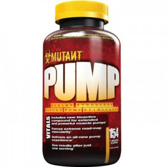 Mutant Pump, Fit Foods, 154 tabl